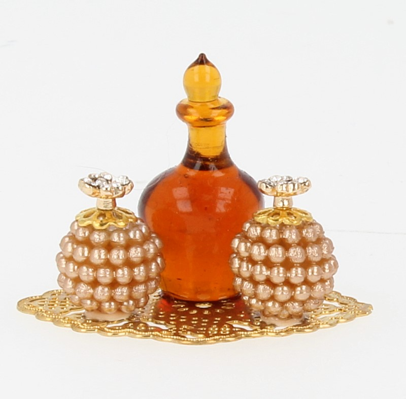 Tc0243 - Bandeja con perfumes