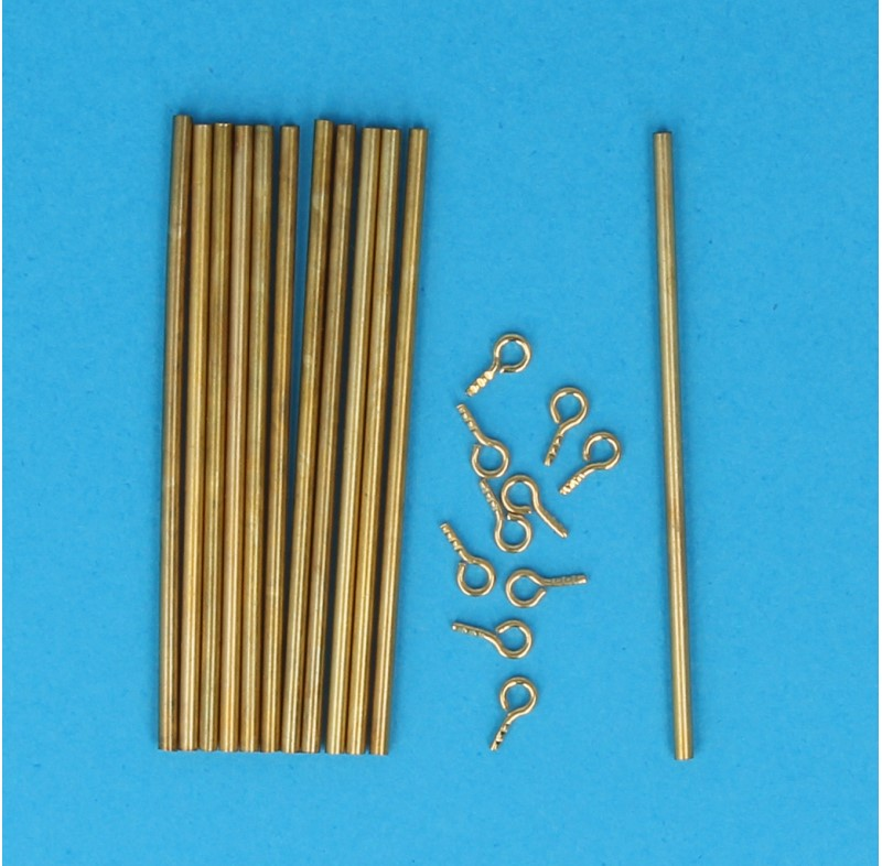 Tc0487 - Bars for stair carpets