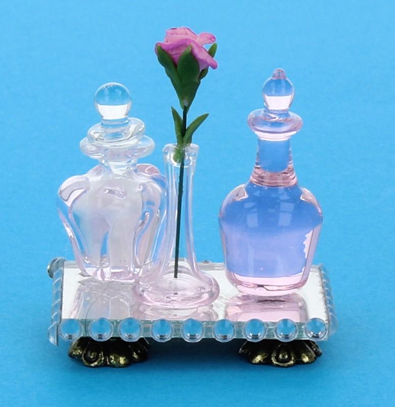 Tc1468 - Bandeja con perfumes