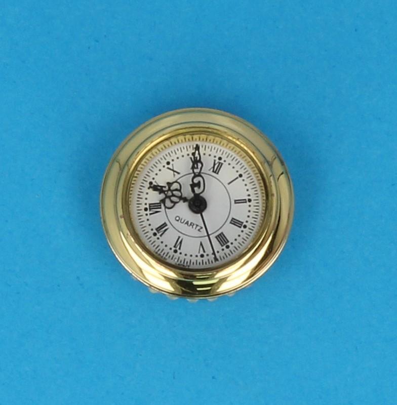 Tc1794 - Reloj dorado funcional