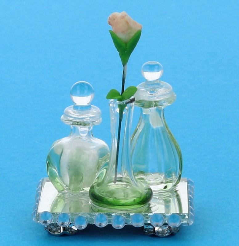 Tc1837 - Bandeja con perfumes