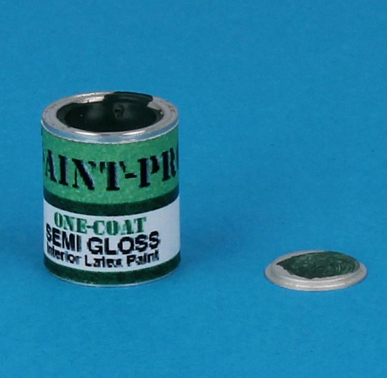 Tc1890 - Barattolo di pittura pieno