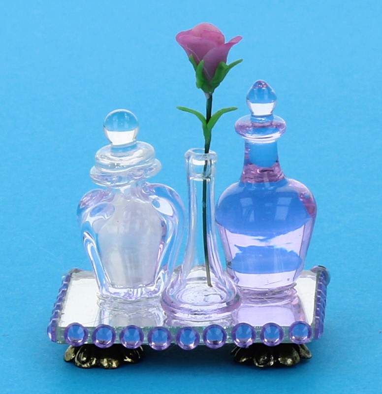 Tc1984 - Bandeja con perfumes