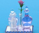 Bandeja con perfumes