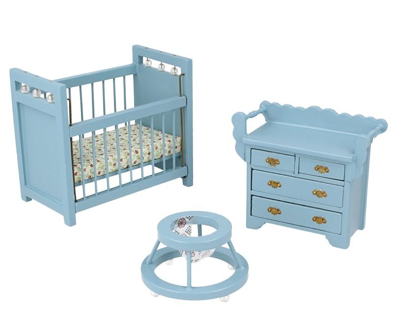 Cj0009 - Nursería azul