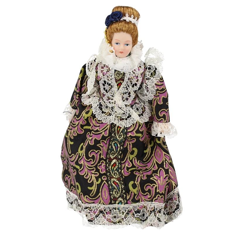 Hb0056 - Dama con vestido
