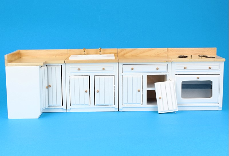Ou23750 - Cocina blanca