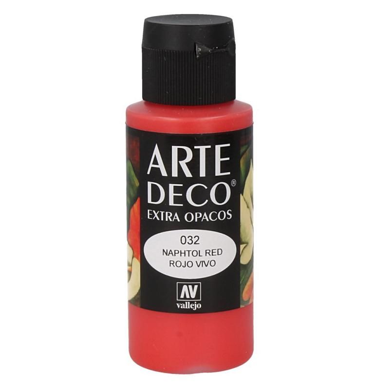 Pt0032 - Peinture acrylique rouge
