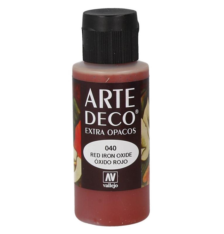 Pt0040b - Pintura acrilica oxido rojo
