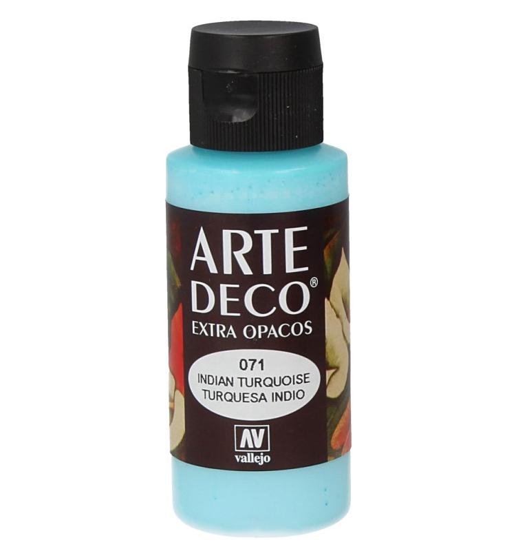 Pt0071 - Peinture acrylique turquoise