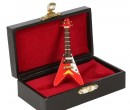 Sb0033 - Red electric guitar