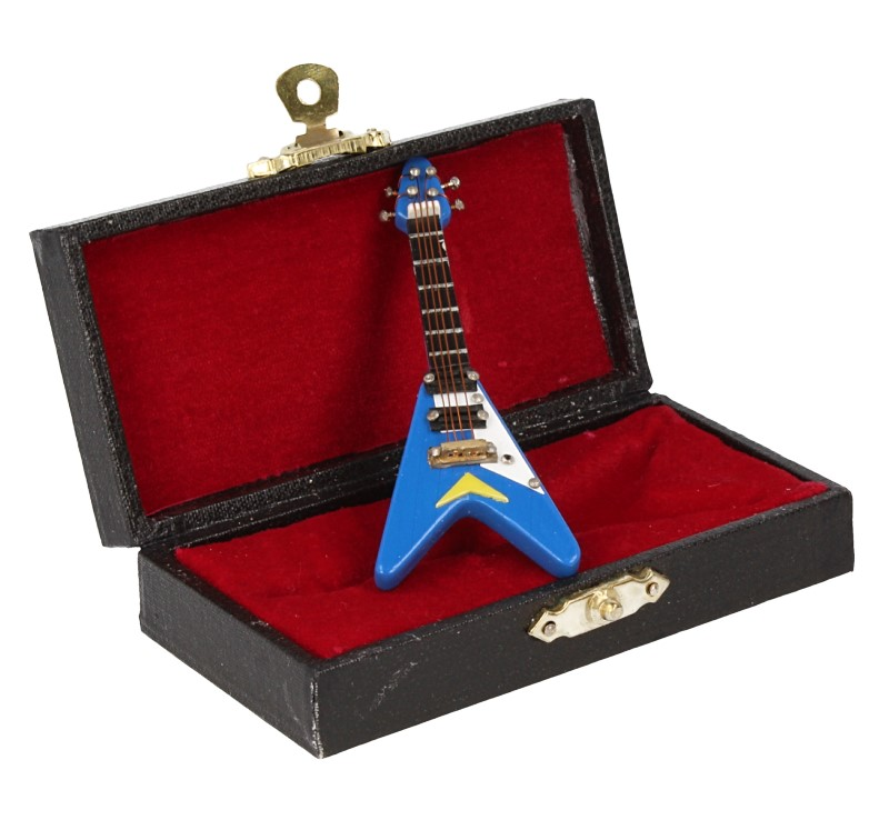 Sb0034 - Guitarra eléctrica azul