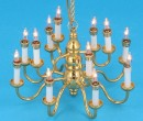 Sl3999 - Chandelier with 12 candles