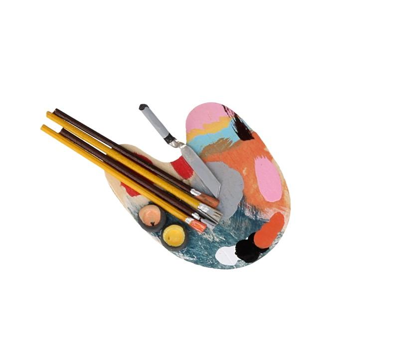 Tc0086 - Paleta de pintura