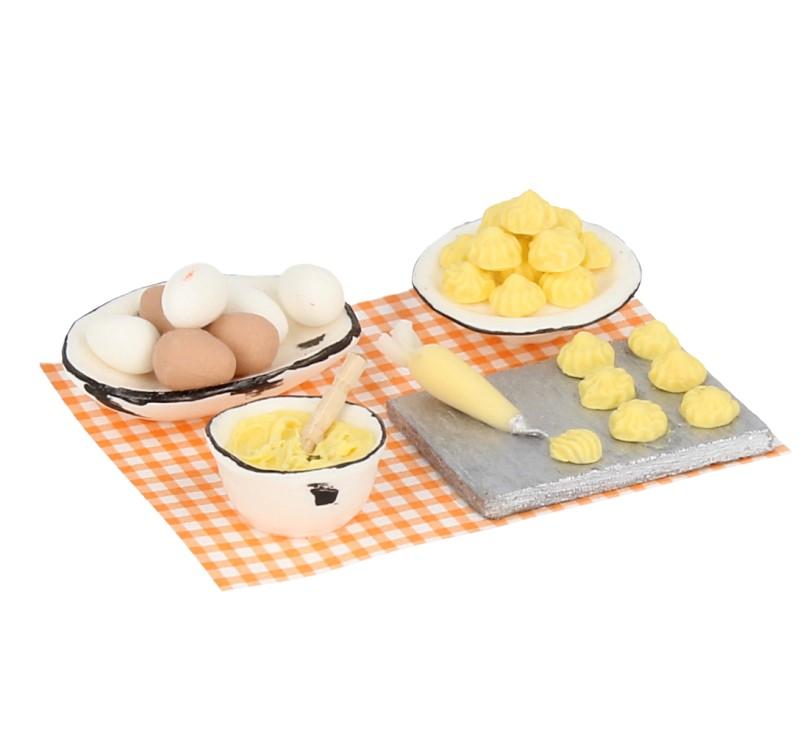 Tc1018 - Kuchen mit Himbeeren