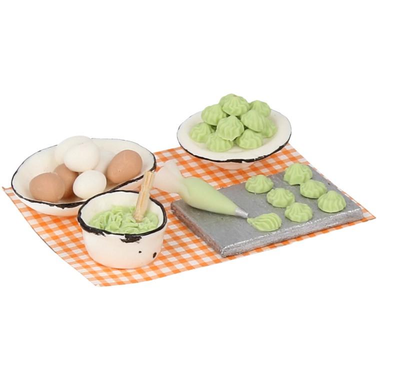 Tc1039 - Kuchen mit Himbeeren
