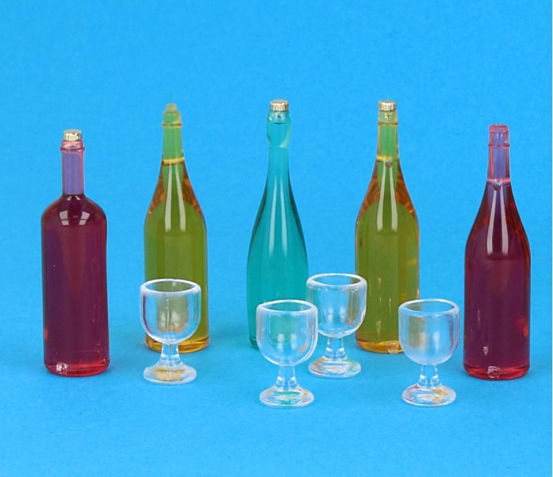 Tc1630 - Set di bottiglie