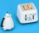 Tc2247 - Toaster und Wasserkocher