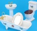 Vg29801 - Set for bathroom of four pieces