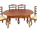 Cj0008 - Table with four chairs