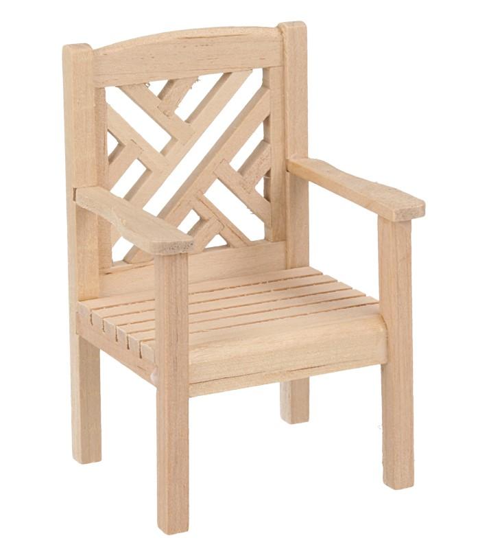 Mb0290 - Chaise de jardin