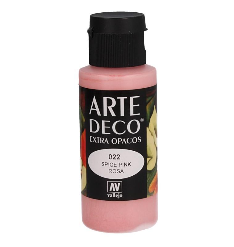 Pt0022 - Peinture acrylique rose