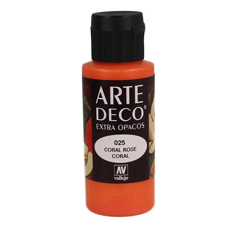Pt0025 - Peinture acrylique rose corail
