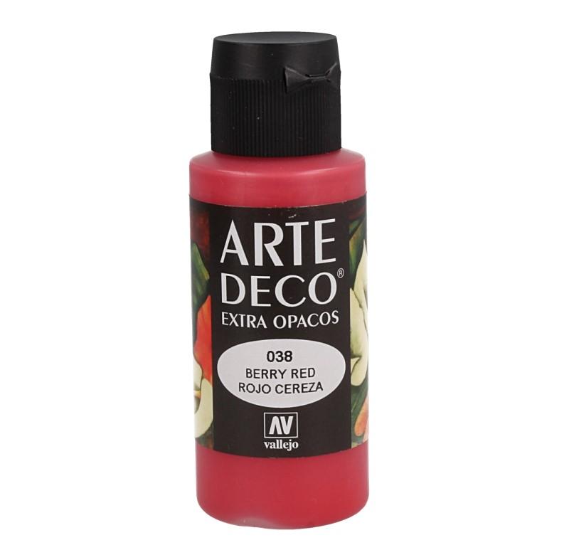 Pt0038 - Peinture acrylique rouge cerise