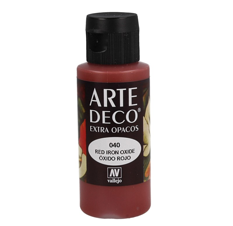 Pt0040 - Pintura acrílica óxido rojo