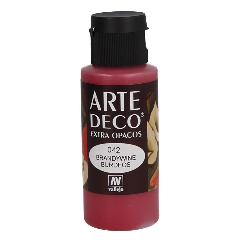 Pt0042 - Peinture acrylique rouge bordeaux