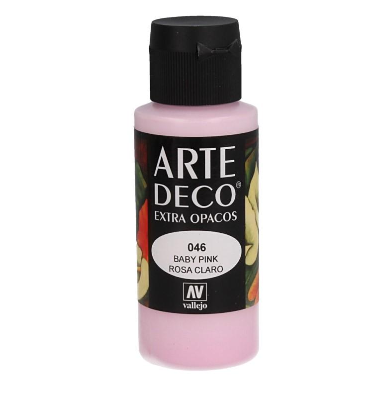 Pt0046 - Peinture acrylique bébé rose