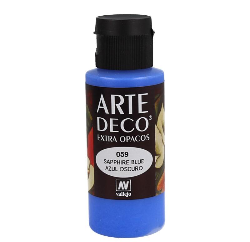 Pt0059 - Peinture acrylique bleu foncé