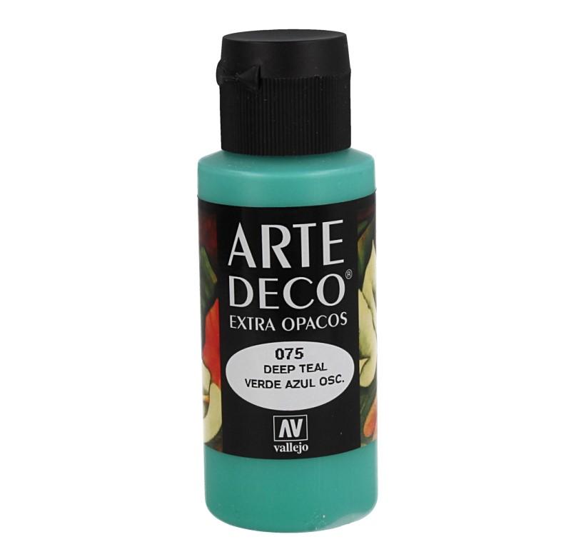 Pt0075 - Peinture acrylique bleu foncé vert