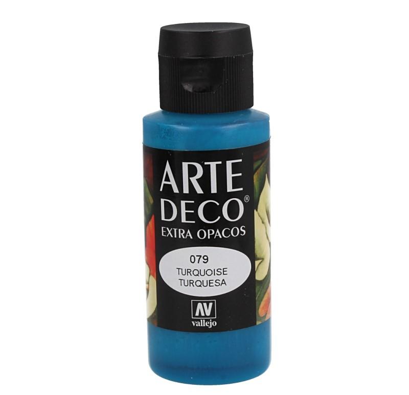 Pt0079 - Peinture acrylique turquoise