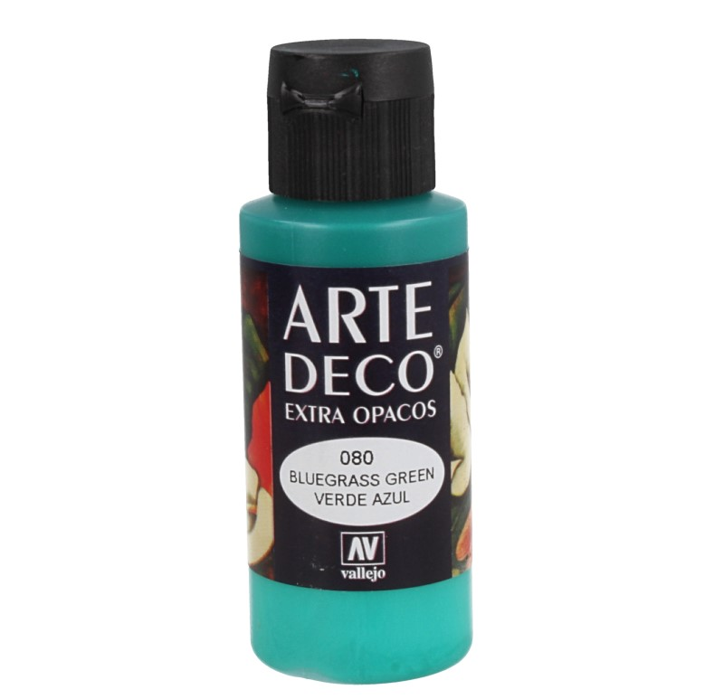 Pt0080 - Peinture acrylique bleu vert