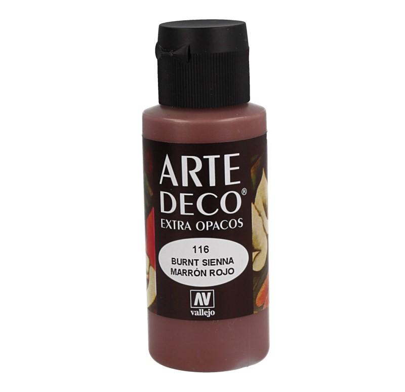 Pt0116 - Peinture acrylique rouge brun
