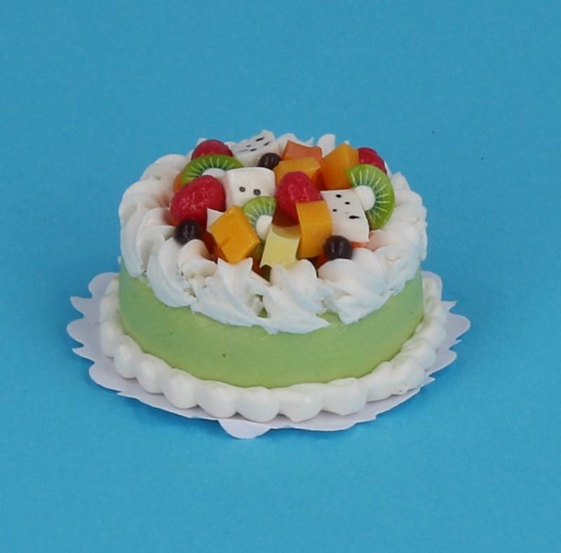 Sm0033 - Gâteau avec des fruits