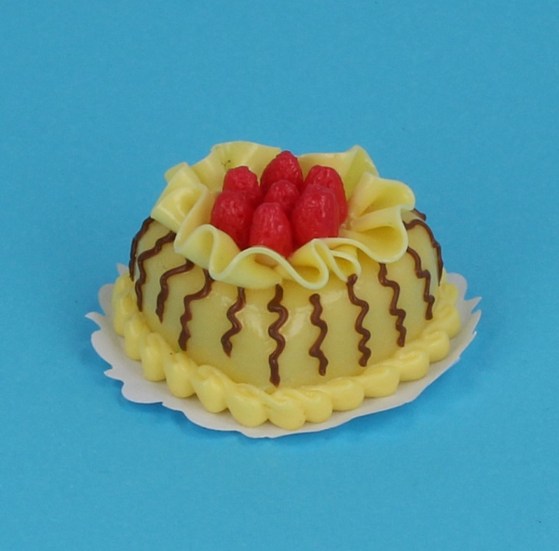 Sm0034 - White chocolate heart cake