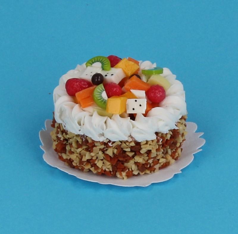 Sm0039 - Gâteau aux amandes avec fruits