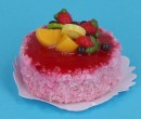 Sm0122 - Strawberry Cake and Fruit Salad