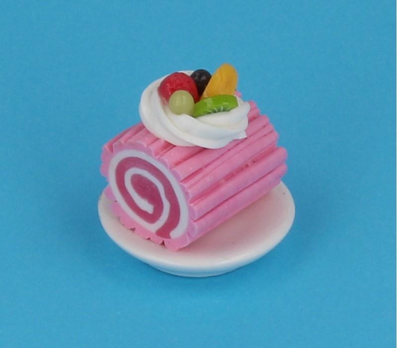 Sm0610 - Portion de gâteau roulé