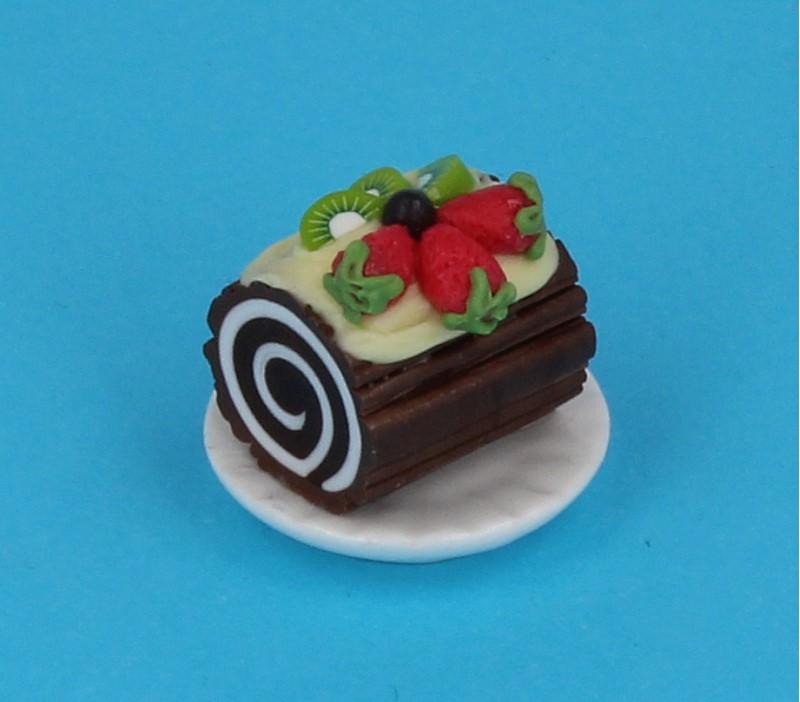 Sm0601 - Portion de gâteau roulé