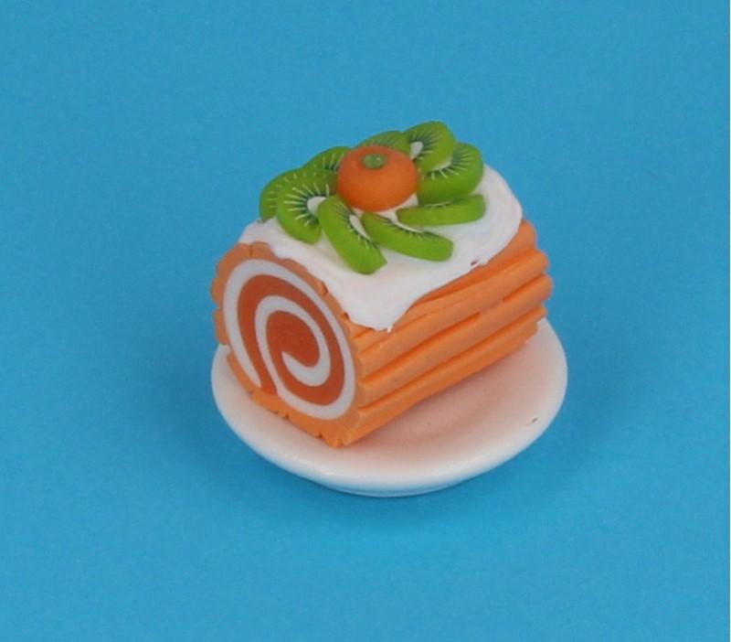 Sm0603 - Portion de gâteau roulé