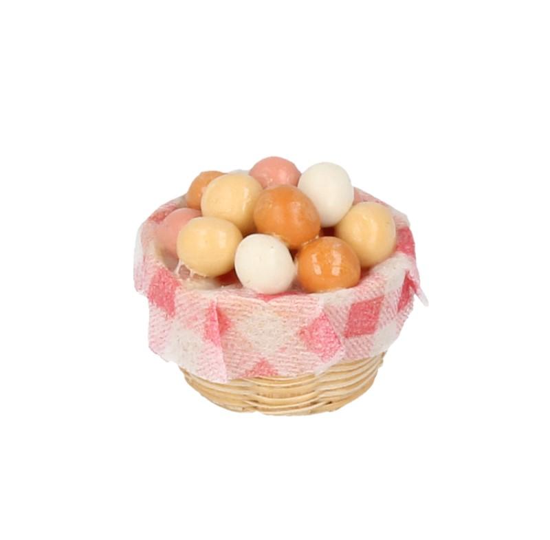 Tc0087 - Cesta de huevos