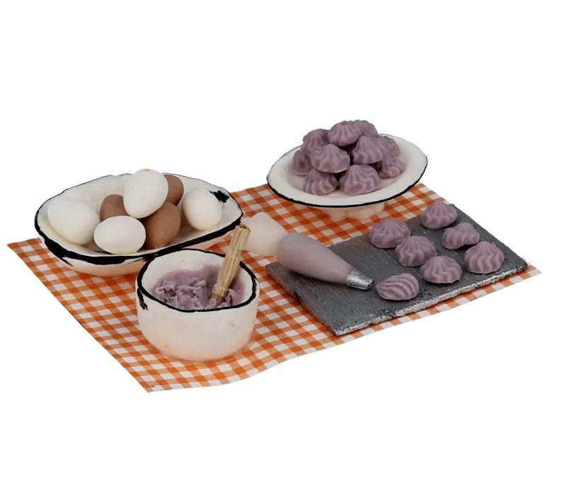 Tc1045 - Kuchen mit Himbeeren