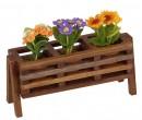Tc1538 - Unpainted wooden flower pot