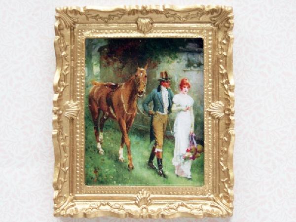 Tc0418 - Bild mit Pferd