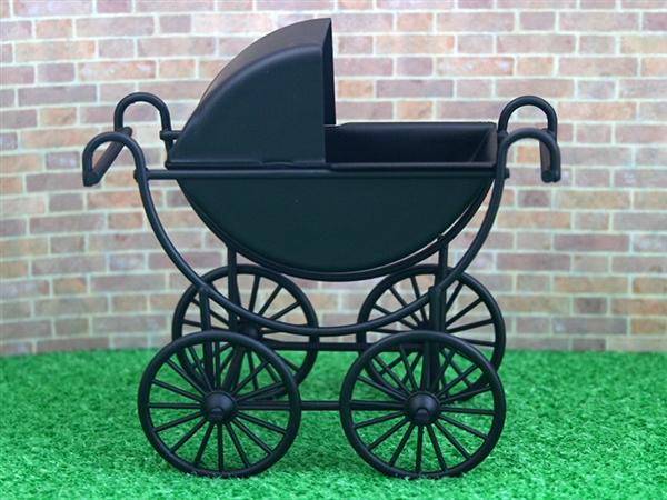 Mb0226 - Poussette bébé couleur noire
