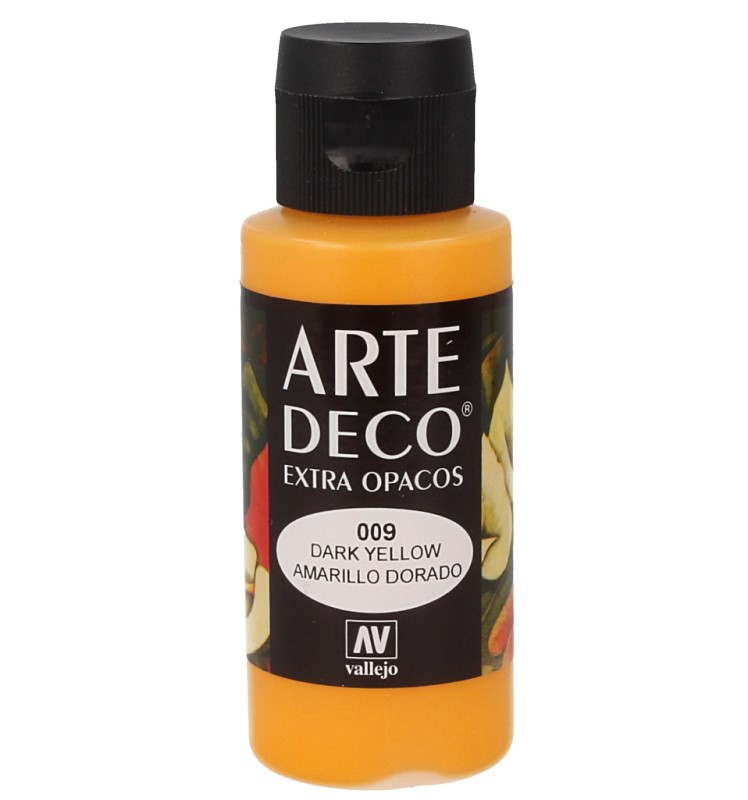Pt0009 - Peinture acrylique jaune d or