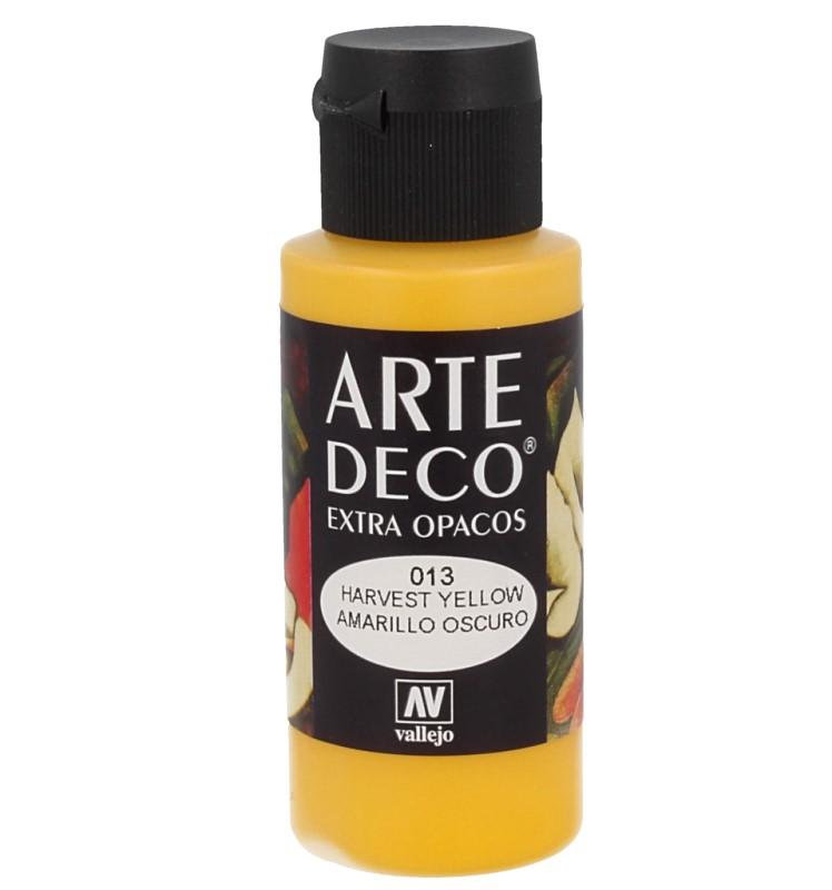 Pt0013 - Peinture acrylique jaune foncé